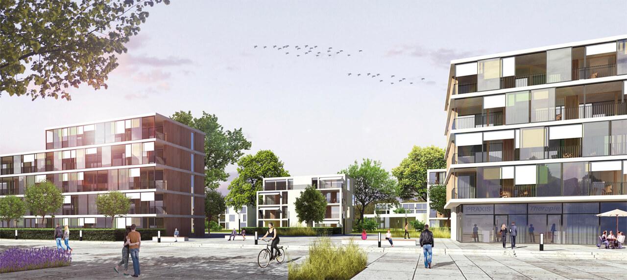 Výsledek obrázku pro Wohnen am Alsterplatz, Braunschweig
