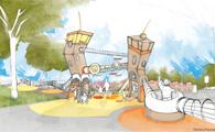 spielen im westfalenpark duesseldorf chora blau landschaftsarchitektur wettbewerb