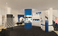 chora blau-Visualisierung-Hannover-KIND Flagship-Store in Hannover